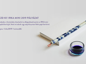 Tervezz borítót és nyerj ajándékcsomagot / DOT for You -  PURE IRKA mini 2019