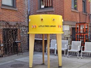 Közösségi könyvtárak New Yorkban