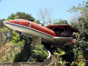 Repülőgéphotel Costa Ricán