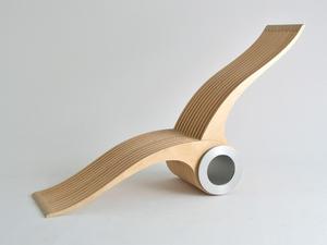 0079a56c0a3c Nem, ez nem csigatészta készítő, hanem egy alakváltó szék Kanadából.