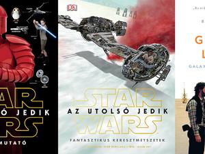 Könyvek, amelyekből minden részletet megtudhatsz Az utolsó Jedikről