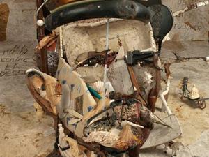 Egy világhírű postás portréja hulladékokból