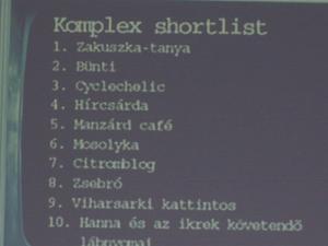 Komplex kategória 5.hely