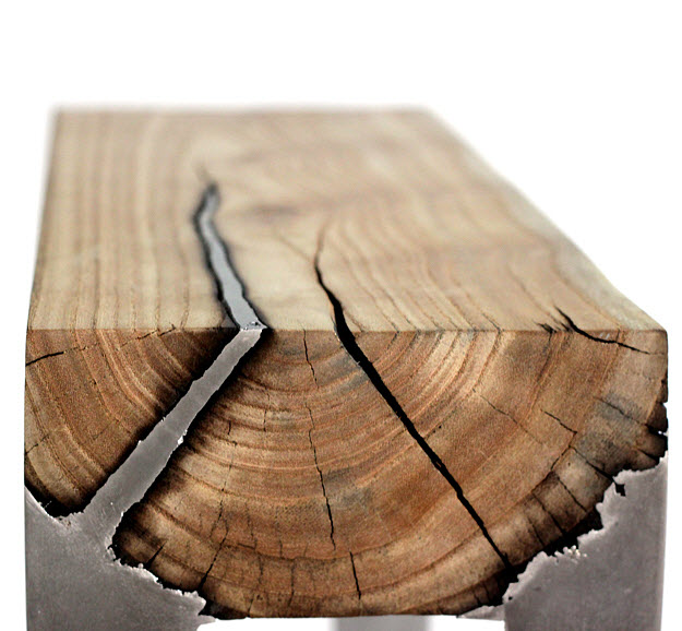 Negatív faktor - Wood casting by Hilla Shamia