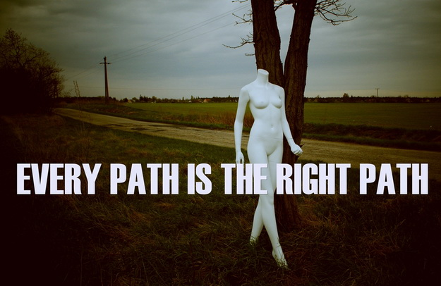 there isnt any best path.jpg