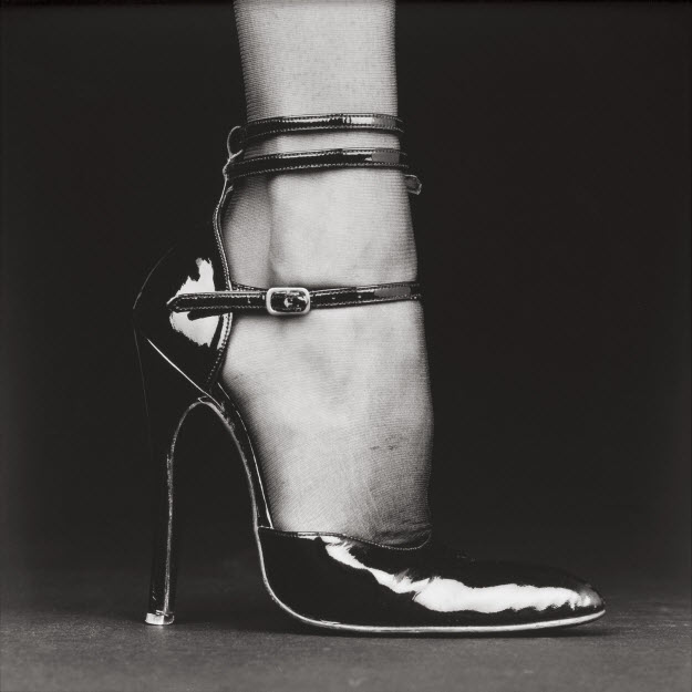 Robert Mapplethorpe ~ Shoe (Melody), 1987.jpg