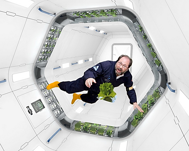 Friss zöldséget minden nap, az ok! Na de az űrben? - NASA Plant System