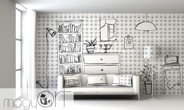 Lakásöltöztetés művészi szinten – Paintwall