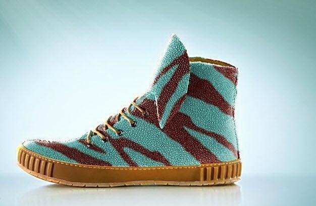Géntechnika már a cipőgyártásban is...! - Rájacsukák a RayFish-től