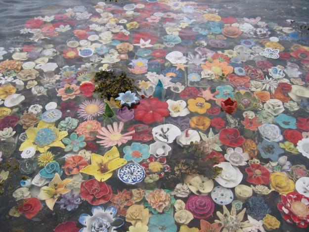 Norvégiában kerámiavirágok nőnek