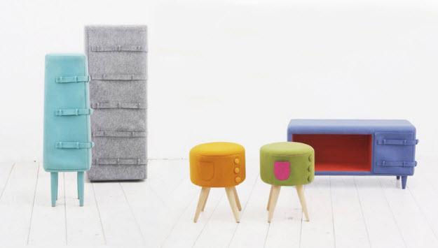 Kiöltözött bútorkollekció - Kamkam