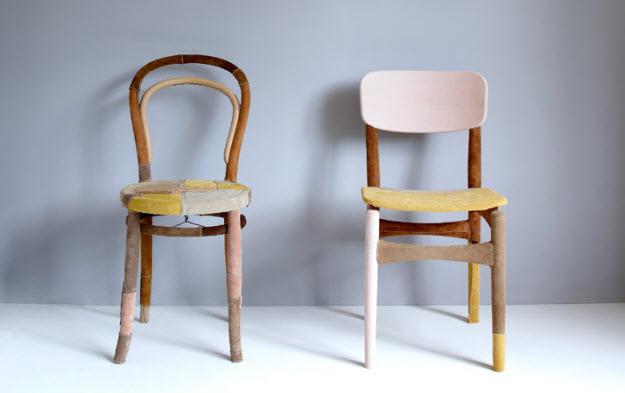 Jól öltözött bútorok Soojin Kangtól
