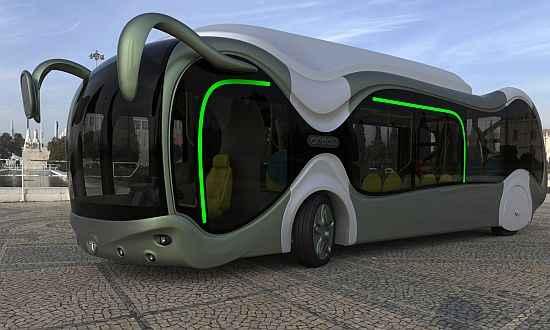 Barátságos óriáshangyára emlékeztet egy új magyar busz - Credo E-Bone