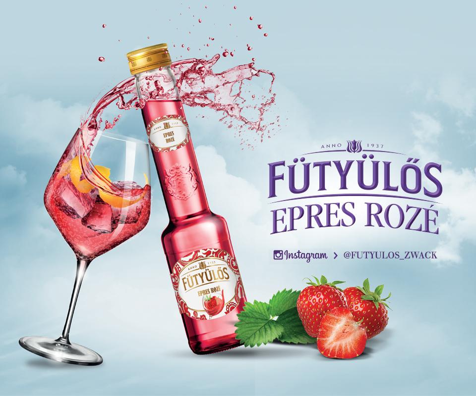 Könnyed játék a nyár italával - Fütyülős Epres Rozé