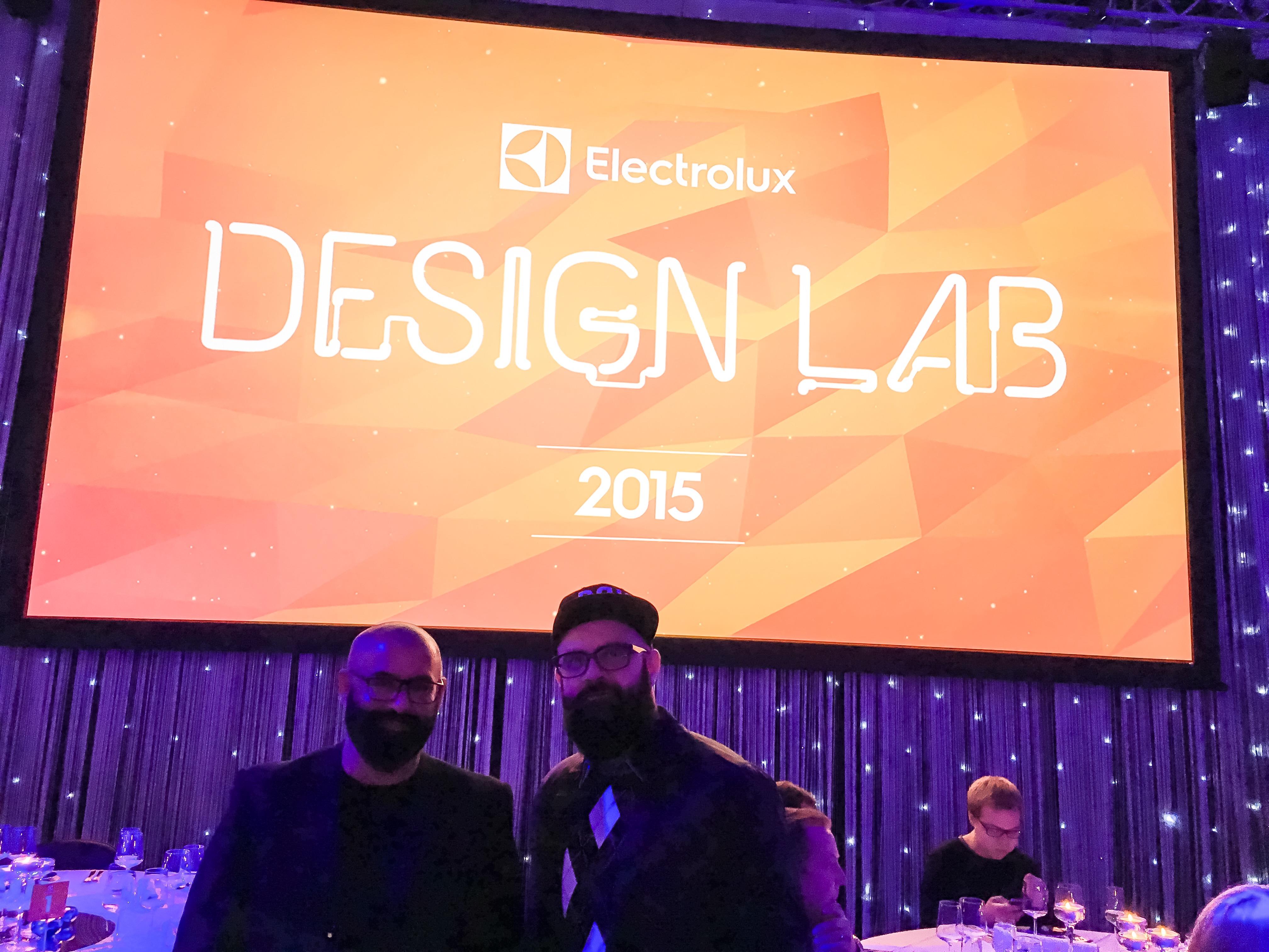 Helsinkiből, az Electrolux Design Lab idei döntőjéről jelentjük...