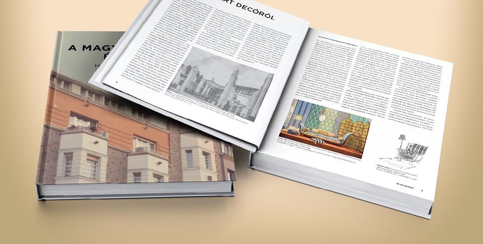 Könyvajánló: Egy egyedülálló kiadvány a magyar art deco építészetről