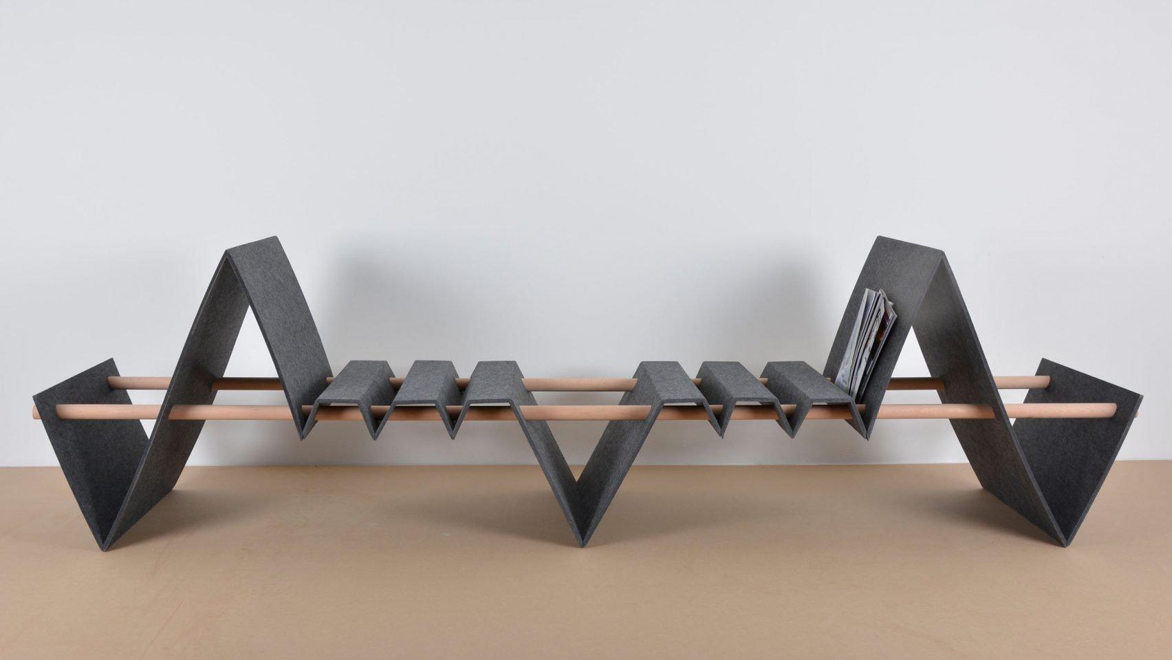 Hajlékony bútorok német diákoktól