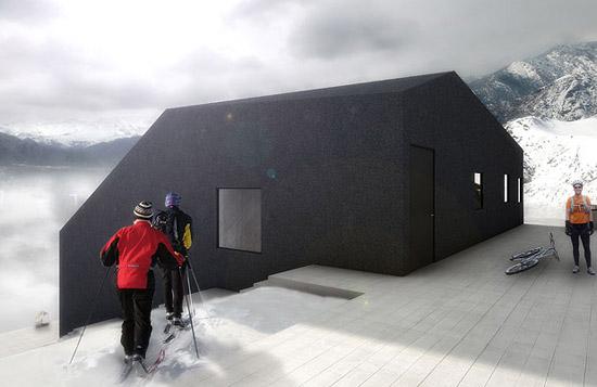 Hó-ház a fagyoskodás ellen