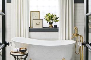 Így varázsolhatsz a legrútabb fürdőszobából is szépet