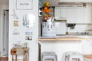 Kicsi konyha? Íme, 10 egyszerű megoldás, hogy nagyobbnak tűnjön a hely