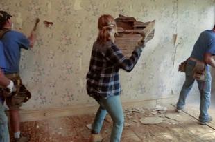 Nedvesedő falak szigetelése bontás  nélkül, egy különleges vakolattal