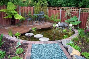 Így építsünk kerti tavat