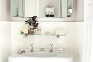 8 ötlet, és extra sok helye lesz a kis fürdőszobában