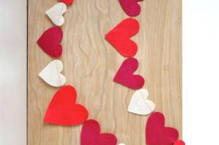 8 egyperces Valentin napi dekoráció, ami egész februárban boldogsággal fogja eltölteni