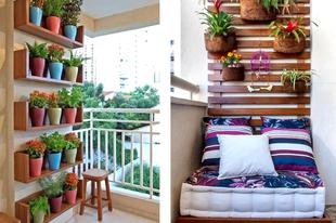 Egy kis kreativitás, és az Ön erkélye is ilyen csodás lesz