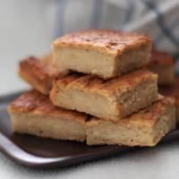 Egyszerű kevert almás süti