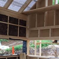 Környezetbarát épületszigetelés, faházak szigetelése