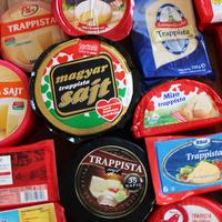 Nagy, tömbös trappista sajt teszt