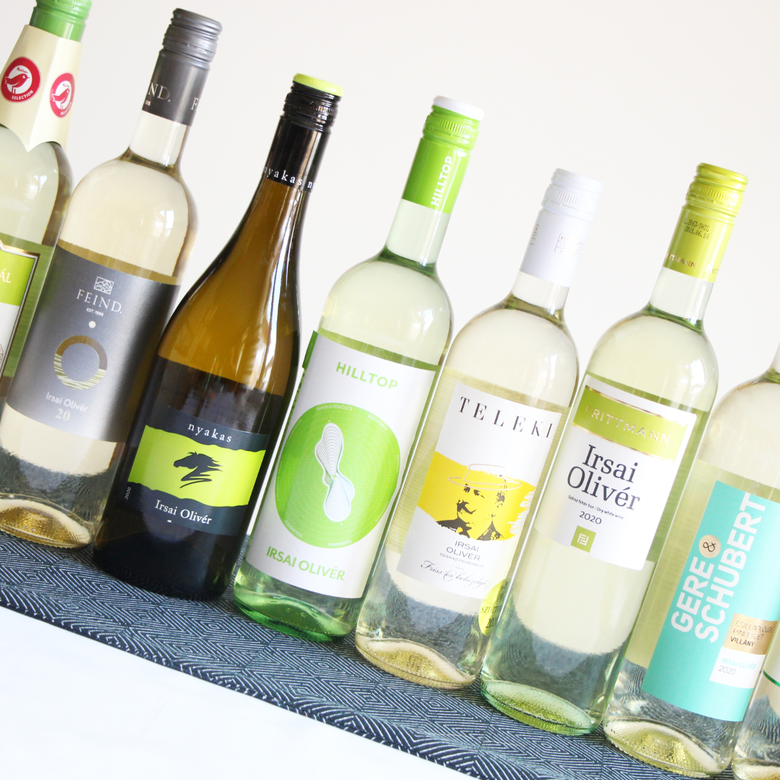 Nagy Irsai Olivér bor vakteszt