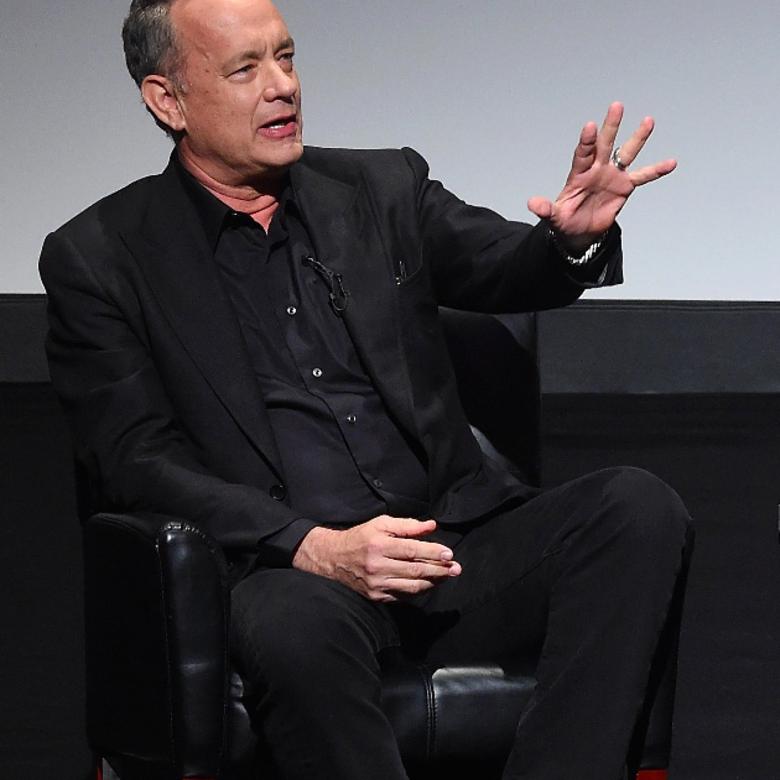 Tom Hanks: 1 szó kell a sikerhez