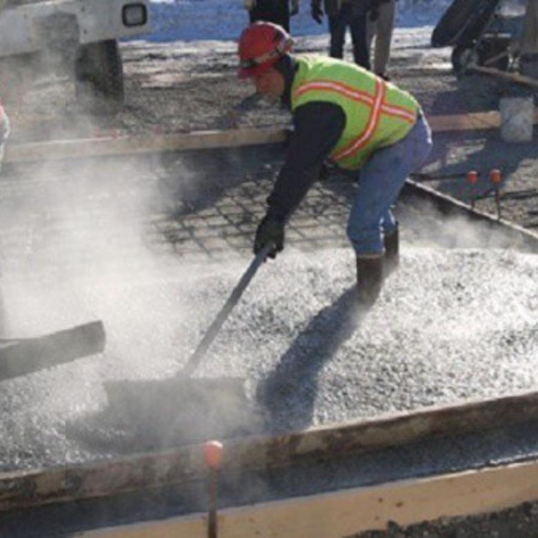 Hogyan betonozzunk télen?