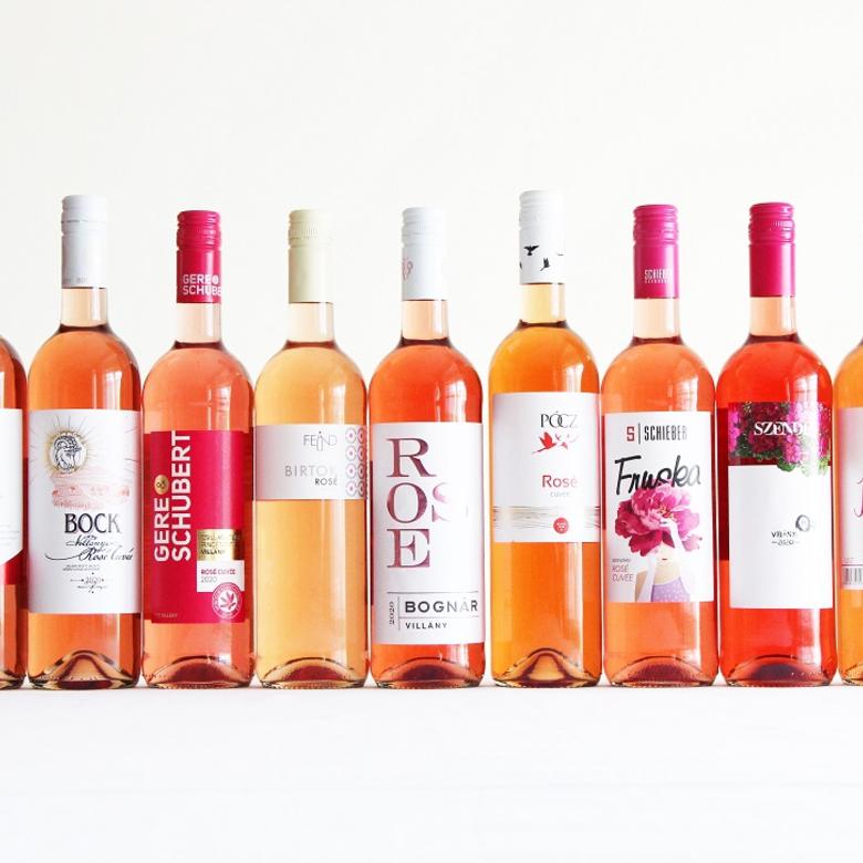 Nagy rosé cuvée bor vakteszt