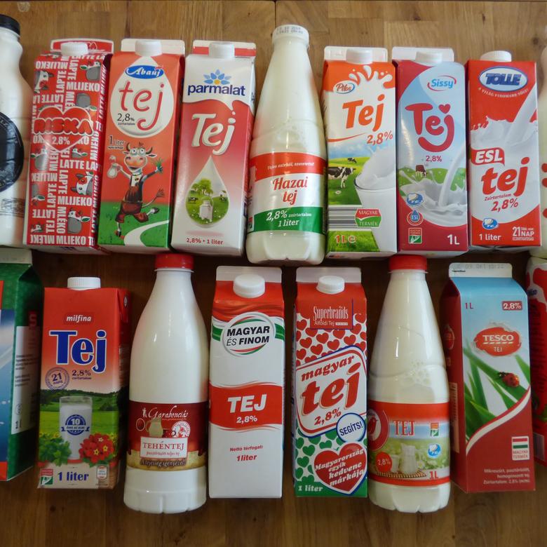 A nagy tej teszt: a legolcsóbb magyar tej győzött!