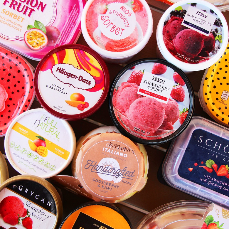 Magas gyümölcstartalmú jégkrémek tesztje