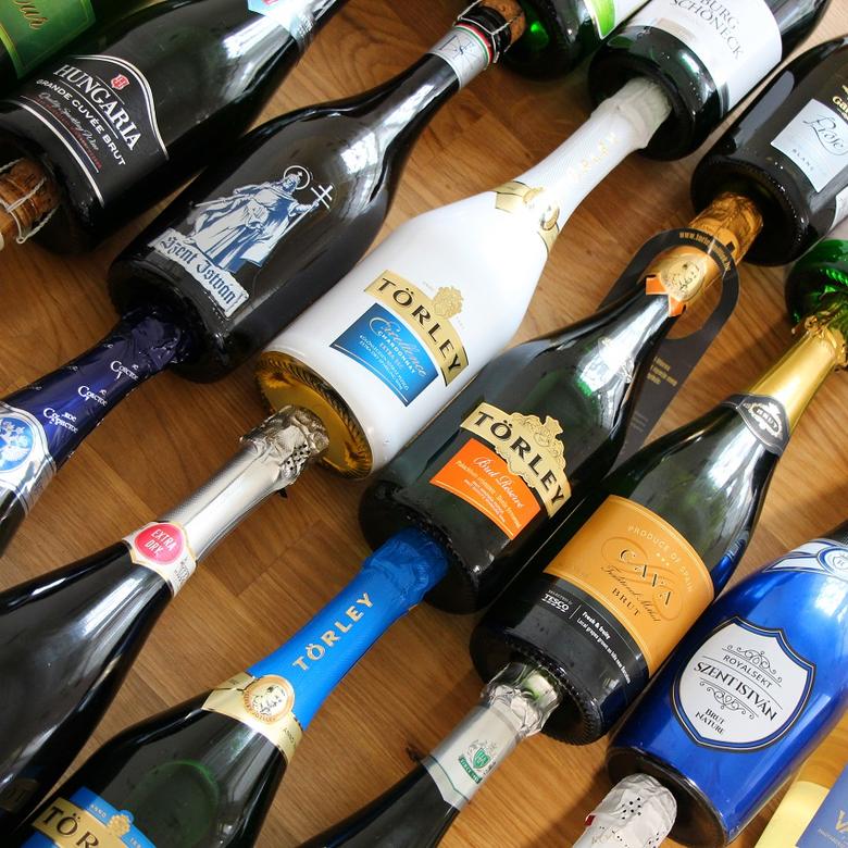 Száraz pezsgő teszt: valódi különlegességek 2.000 Ft alatt!