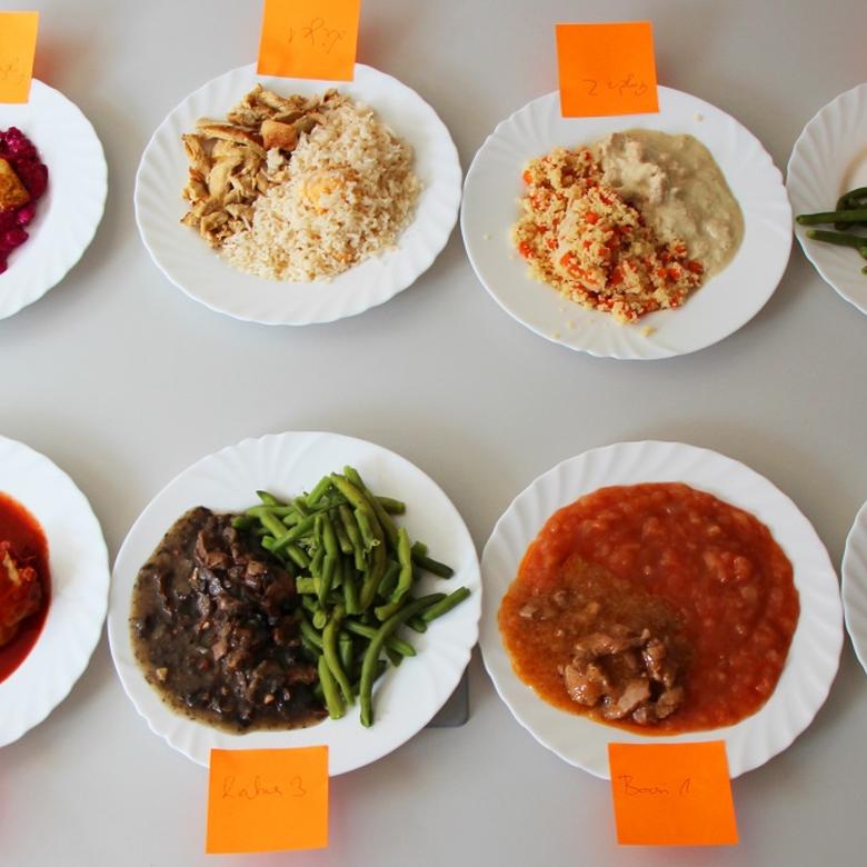 Nagy ételrendelés teszt
