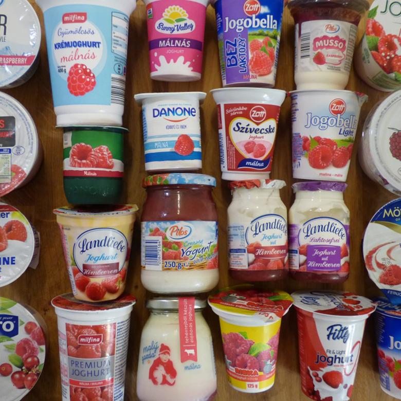 Nagy málnás joghurt teszt: a legolcsóbbtól a legfinomabbig