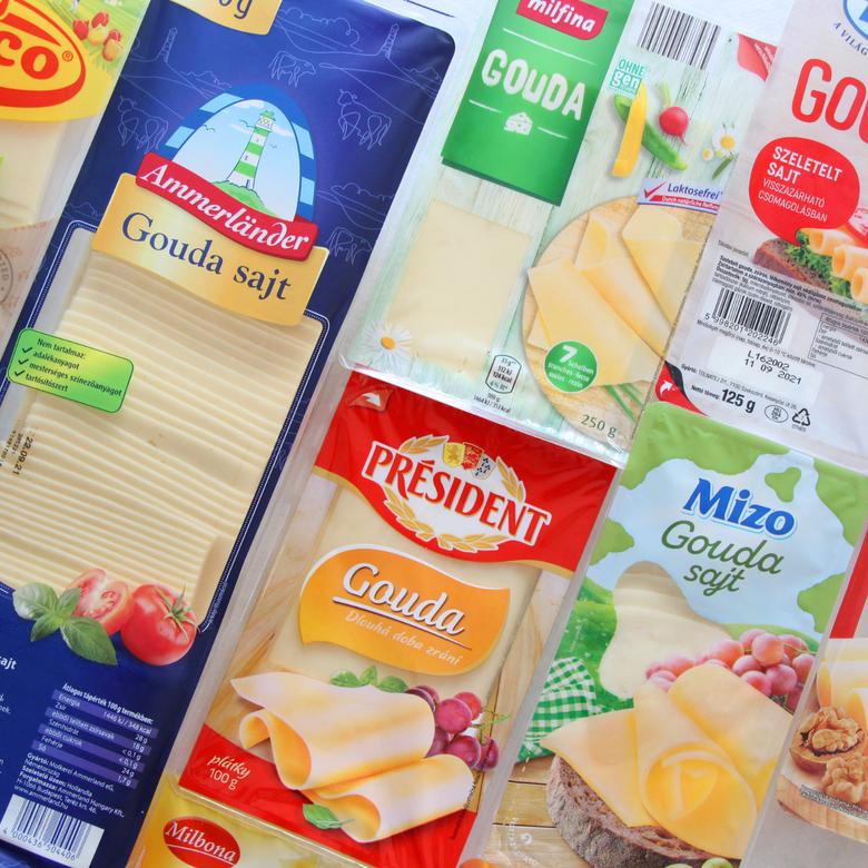 Nagy sajt teszt: a legfinomabb goudát kerestük a vakteszten!