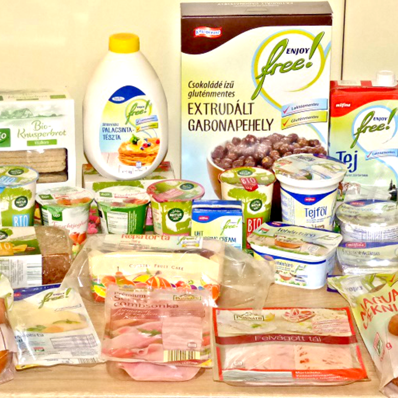 Glutén és laktóz mentes teszt