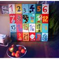 Elkészült a saját adventi naptárunk is. (cipész cipője)