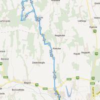 Zalaegerszeg-Gersekarát-Zalaegerszeg edzés (37 km)