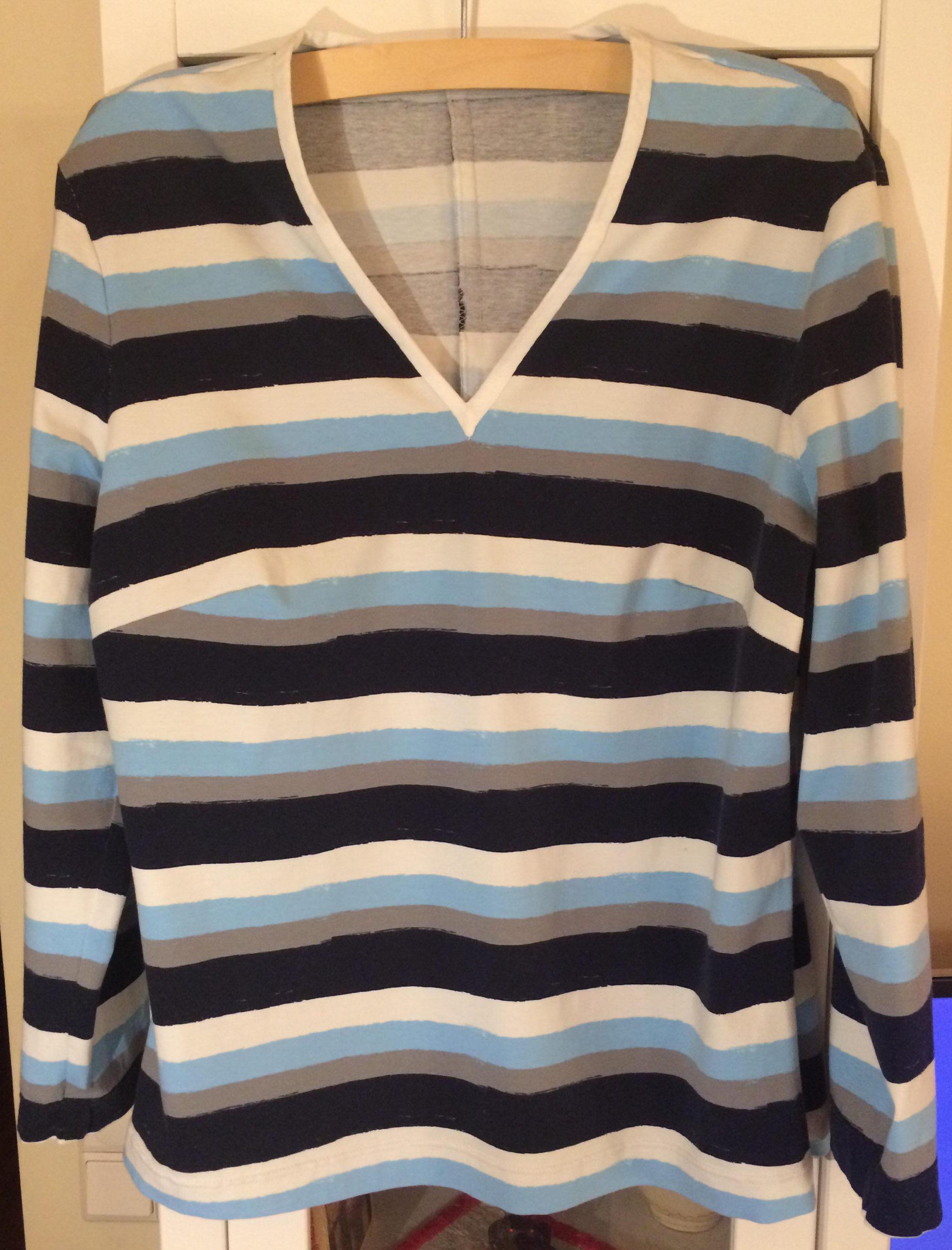 c5ad464556 Széles csíkos póló - Marcsi & Miki kreatív blogja