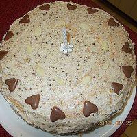 mogyorós-mandulás torta...
