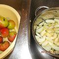 Alma, paradicsomé főzés, túrós pite...