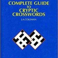 \PDF\ Complete Guide To Cryptic Crosswords E. describe Class below donde grupo lenguaje ECONOMY