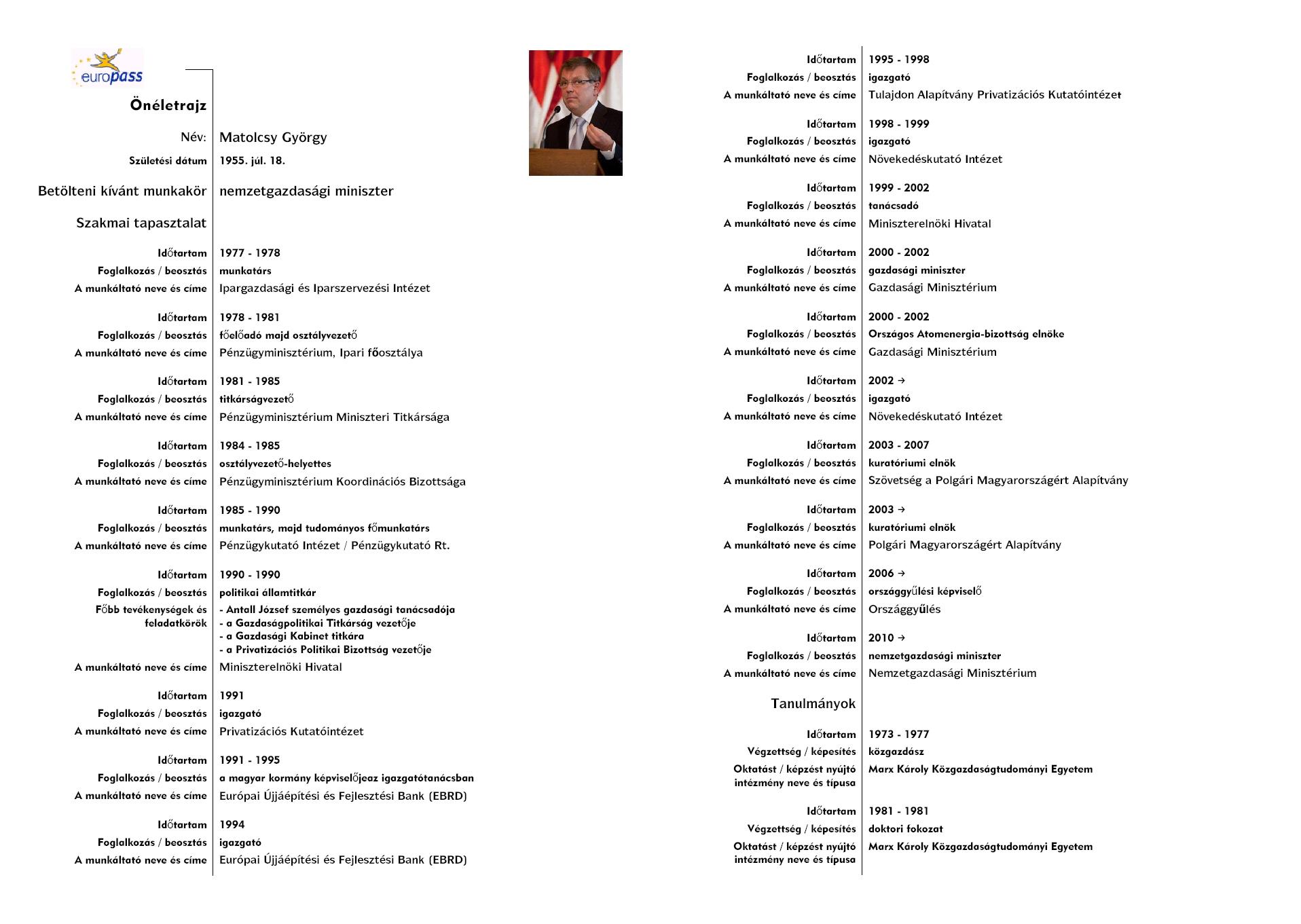 önéletrajz minta közigazgatás 2013 | szendamondja | 28 oldal önéletrajz minta közigazgatás